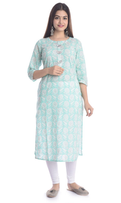 Buy Kurtis Online   Shop Latest Cotton Rayon Designer Straight Kurtas, Kurta Palazzo Sets, Kurta Pant Set   Dupatta Sets   Jaipuri Kurti